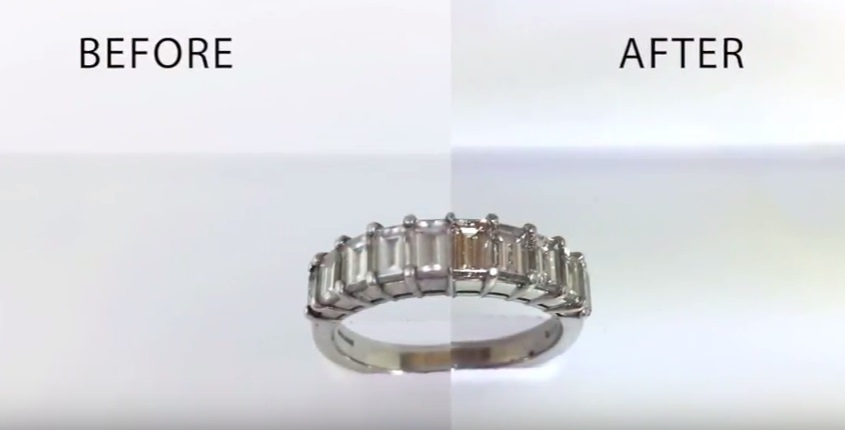 Diamond Ring Before and After