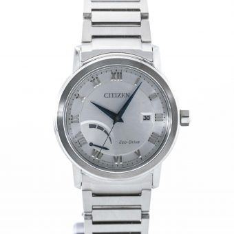 Stainless Steel Citizen Eco-Drive Gents