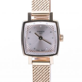 Retro Rose Gold Petite Watch with Quartz