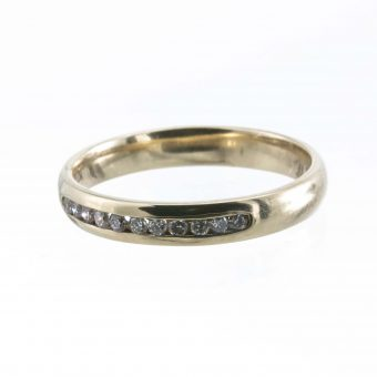 9ct Gold Eternity Ring with .15CT