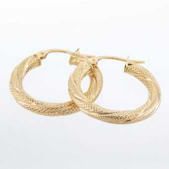 9ct Fancy Hook Earrings
