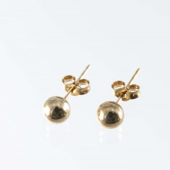 9ct Gold Ball Stud Earrings