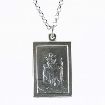 Silver Religious Pendent