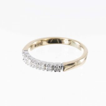 7 Stone Diamond Eternity Ring